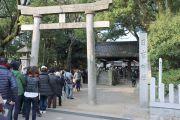 日吉神社の申年は行列ができる