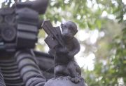 猿の神像1