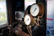 蒸気機関車の計器