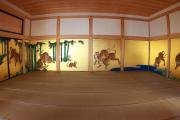本丸御殿の虎の屏風絵