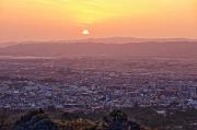 若草山山頂からの夕景