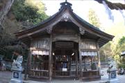 大屋田神社本殿