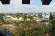 天守台からの眺め(西尾市)