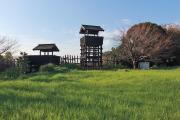 物見櫓と虎口跡
