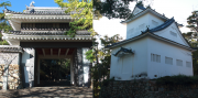 桜門と二の丸櫓