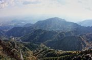御在所岳から見た風景