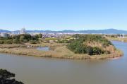 豊川(鉄櫓からの眺め)