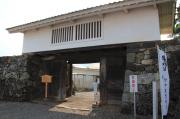 竹中陣屋跡檜門(正門)
