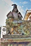 竹中半兵衛銅像