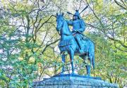 藤堂高虎の銅像