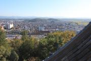 天守閣最上階からの眺め(伊賀市)