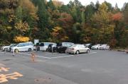 苗木遠山資料館駐車場