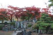 二の丸庭園と紅葉