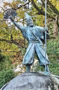 加藤清正の石像