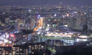 東山スカイタワーから見下ろす名古屋の夜景
