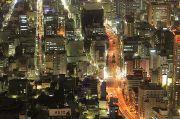 名古屋市街の夜景