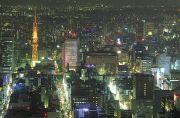 テレビ塔を含む夜景