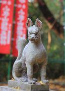稲荷神社のキツネ象
