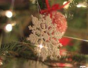 雪の結晶の飾り
