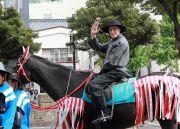 馬に乗ったルイスフロイス