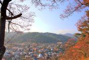 高遠城址公園高台からの風景