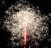 中村公園夏まつりの打ち上げ花火