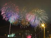 長島スパーランドの花火