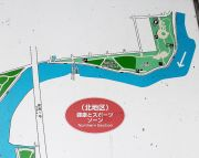 北地区の地図