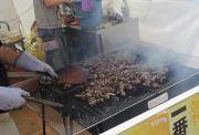 宮崎県の地鶏の炭焼き