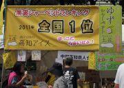 高知県のゆずシャーベット
